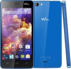 Wiko Highway Signs Flash File Stock Firmware ROM