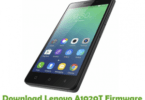 Lenovo A1020T Flash File Stock Firmware ROM