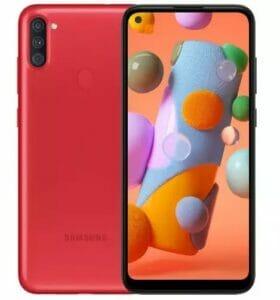 Samsung A115U U2 Official Firmware