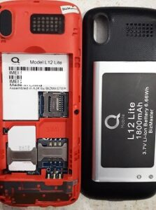 Qmobile L12 Lite Flash File Stock Firmware ROM