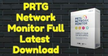 PRTG Network Monitor 21.2.68.1492 Full Latest Download
