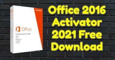 Office 2016 Activator 2021 Free Download