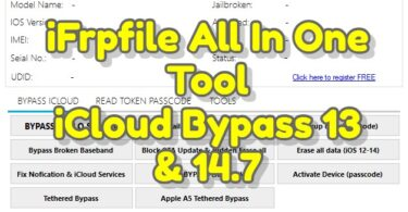 iFrpfile All In One Tool AIO V2.6 Free Tool
