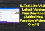 S-Tool Lite V1.2.1 Latest Version Free Download (Added New Function Without Credit)