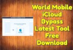 World Mobile iCloud Bypass Latest Tool Free Download