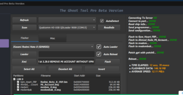 Qualcomm MTK Ghost Tool Pro Beta V0.1 Setup Unlock Tool