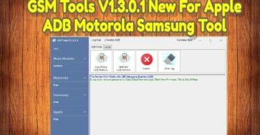 GSM Tools V1.3.0.1 New For Apple ADB Motorola Samsung Tool
